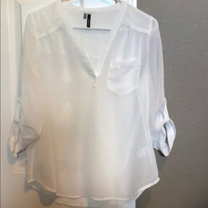 Blouse from Maurice's.